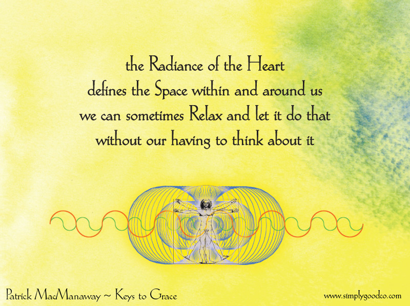 The radiance of the heart