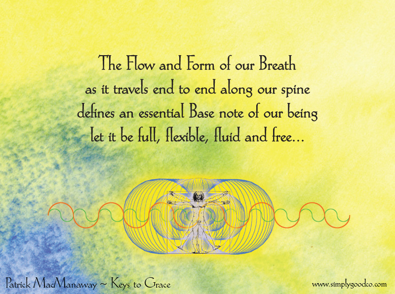 The flow and form of our breath